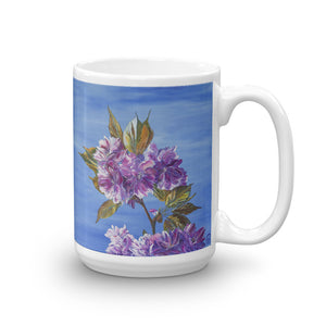 Cherry Blossom Leaves Mug