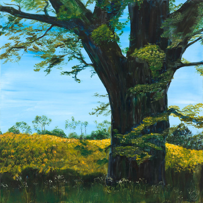 07 Matriarch of the Rapeseed - Original