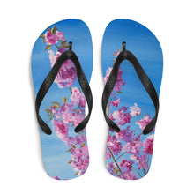 Load image into Gallery viewer, Cherry Blossom Flip Flops