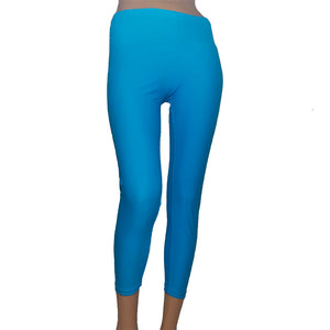 Malla pitillo lycra color azul
