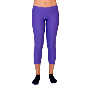 Malla pitillo lycra color violeta