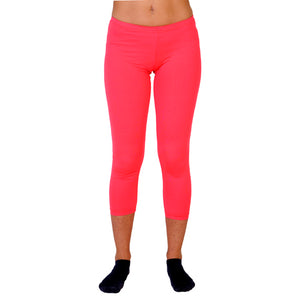 Malla pitillo lycra color rojo