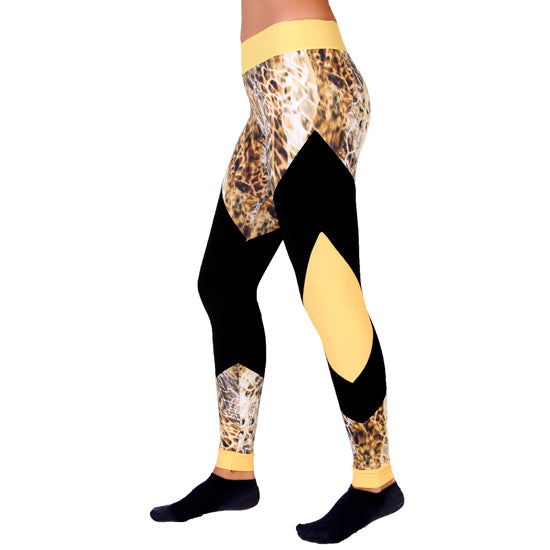 Malla fitness animal print