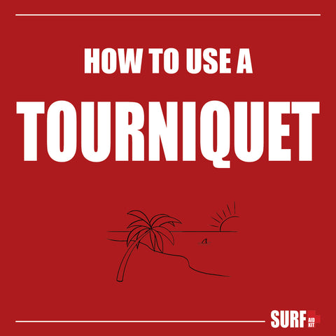 How to properly apply a tourniquet