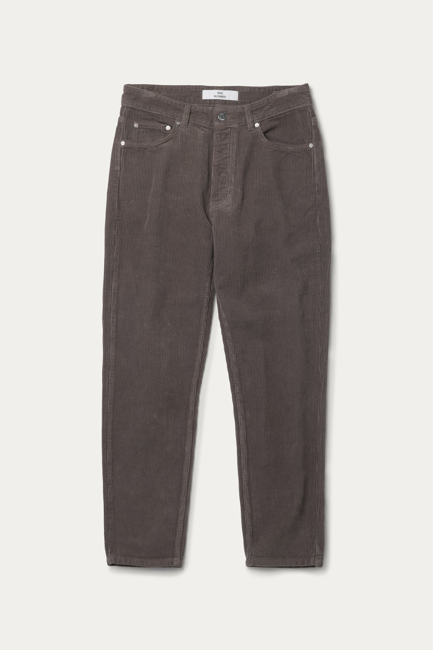 Won Hundred Men Ben Corduroy Trousers Trousers Major Brown