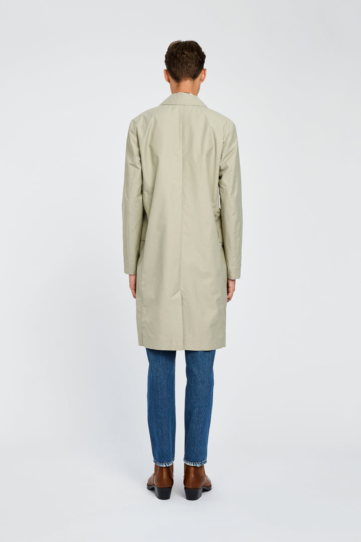 Won Hundred Men Julius Coat Outerwear Light Grey