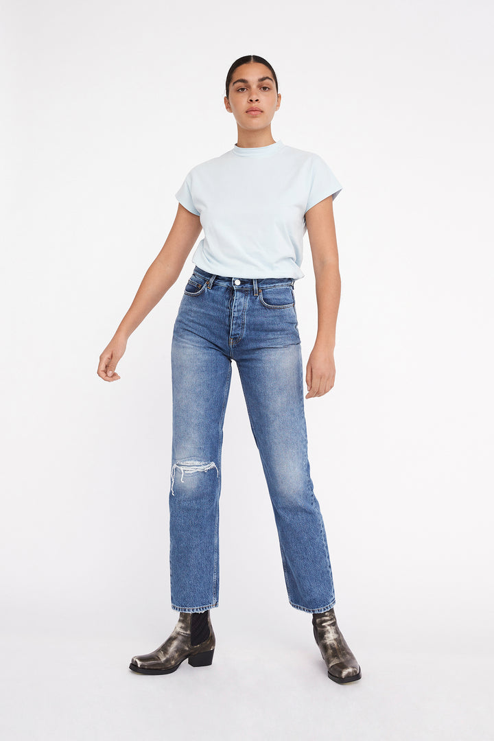 Won Hundred Women Pearl Jeans Jeans Vintage Bleach Blue