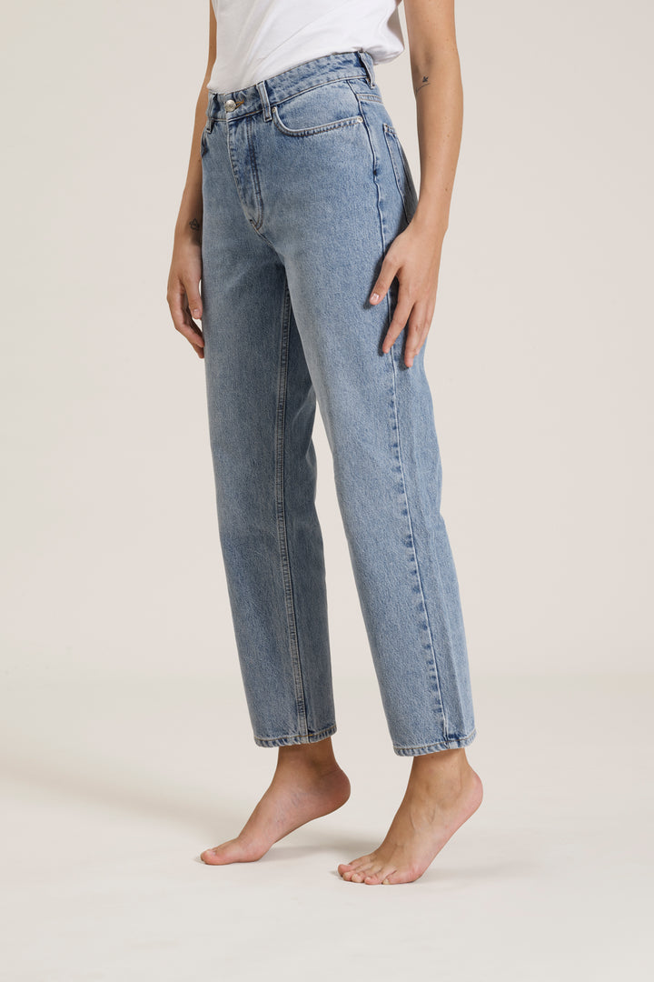 Won Hundred Women Pearl Jeans Jeans Distressed Blue