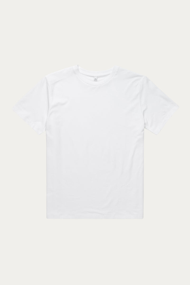 Won Hundred Men Troy Organic T-shirt T-shirt White