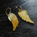 Madre Pearl Wings Earring