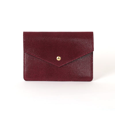 Pochette MM / Passeport Lou lie de vin