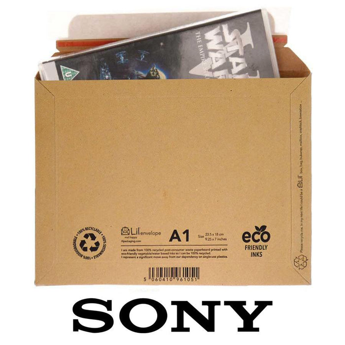 sony - lil envelope ecommerce packaging mailer