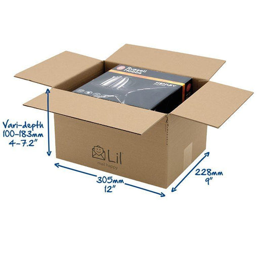 E3 Single Walled Cardboard Box