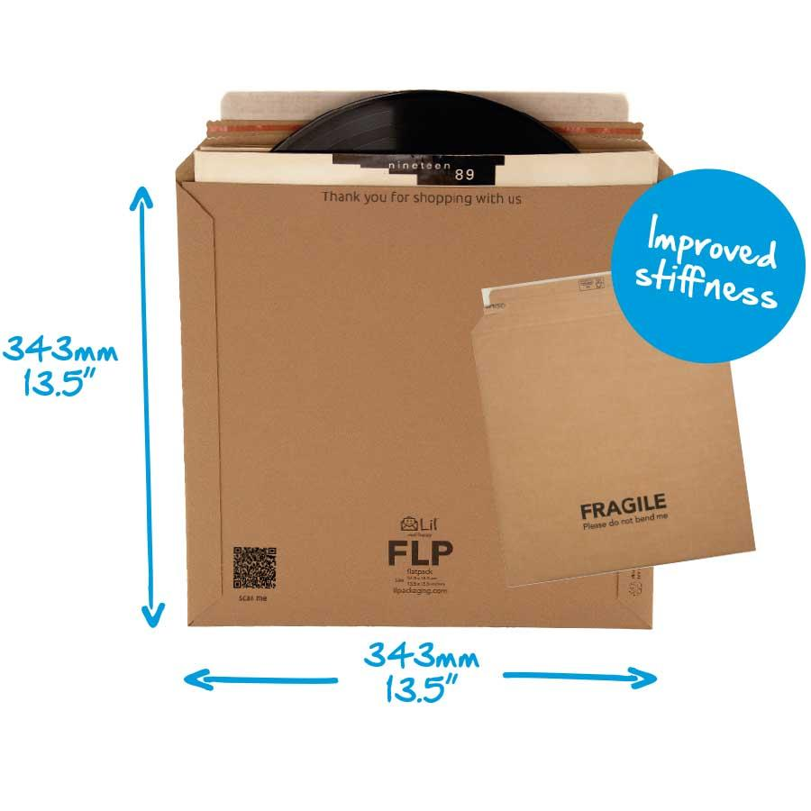 FLP Flatpack Vinyl Record Packaging