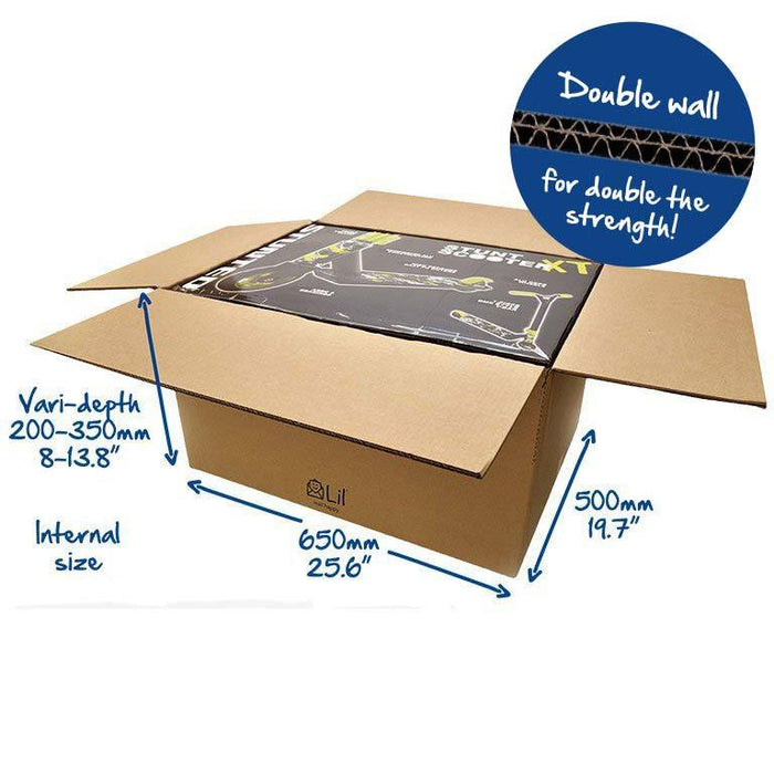 Large Double Wall Boxes Lil Packaging Australia