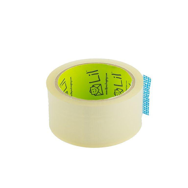 T66 Economy tape CLEAR 48mm x 66m Acrylic (3 inch core)