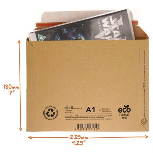 A1 DVD envelope - Amazon style DVD and games packaging