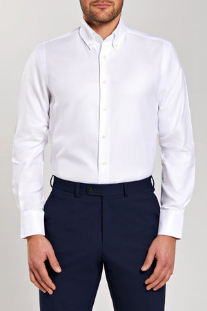 Classic Fit White Oxford