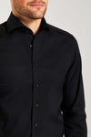 Slim Fit Schwarz Stretch