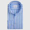 Slim Fit Light Blue Stripe