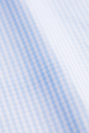 Classic Fit Light Mini Blue Check
