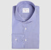Classic Fit Blue Stripe Wrinkle Free