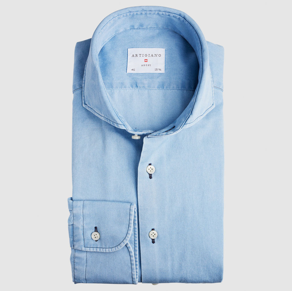 Classic Fit Hellblau Jeans