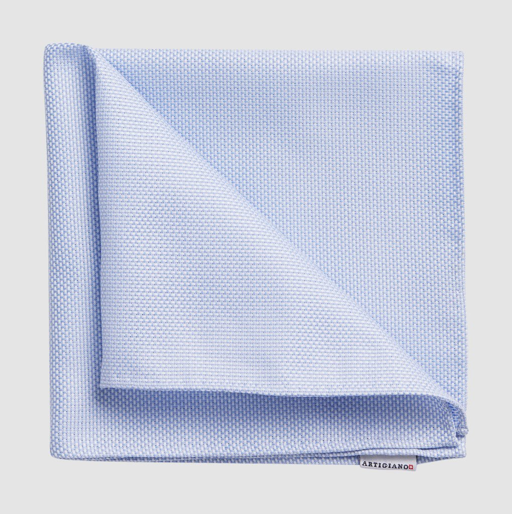 Pocket Square Blue