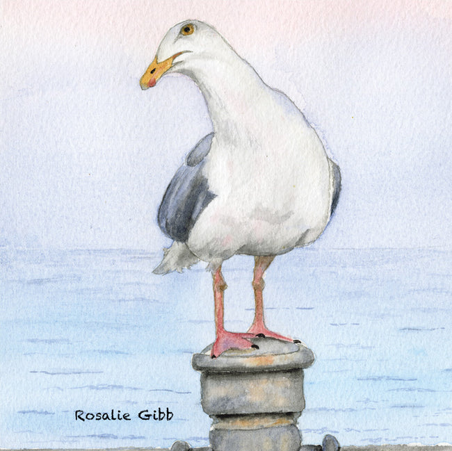 George Greeting Card and Gift by Rosalie Osborne Gibb