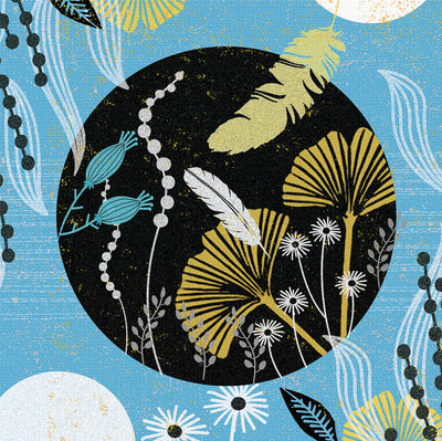 Light as a feather Greeting Card and Gift by Jo Parry