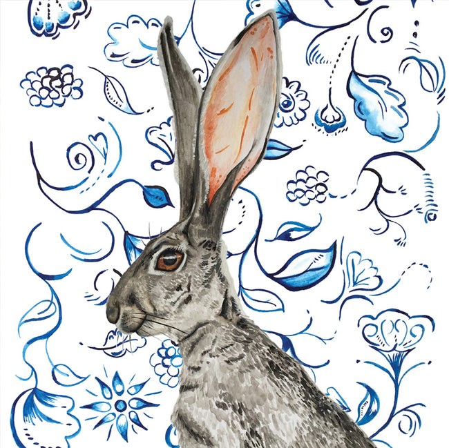 Spring Ears Greeting Card and Gift by Catherine Cook