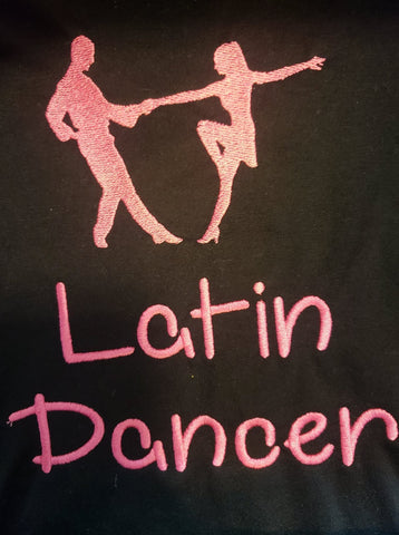 Long Sleeve: Latin Dancer