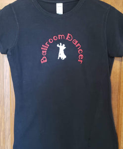 Short Sleeve: Ballroom Dancer & Couple