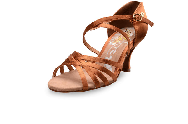 ADS Japan Women's 5-Strap Latin Shoes