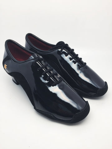 ADS Japan Super Grip Men's Patent Latin Shoes