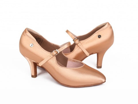 ADS Japan Women's Ballroom Shoes with Strap