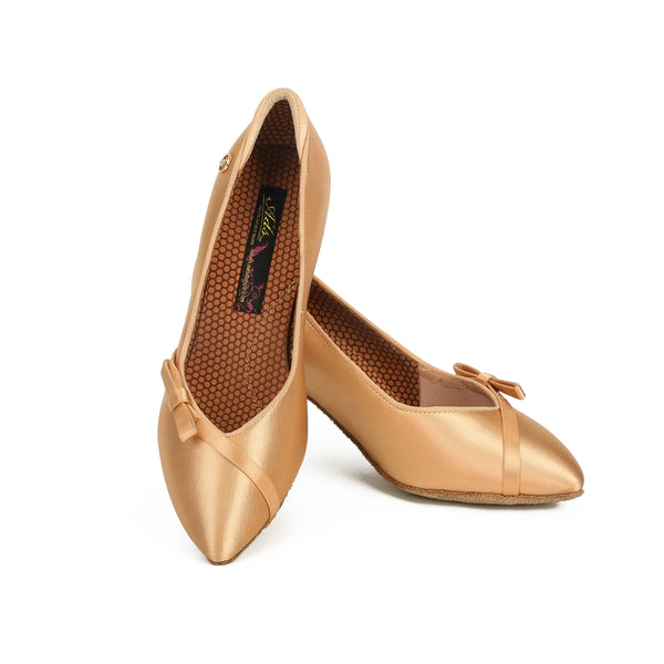 ADS Japan Women's Super-Grip Ballroom Shoes with Bow