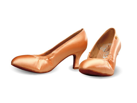 ADS Japan Women's Ballroom Shoes with Elastic