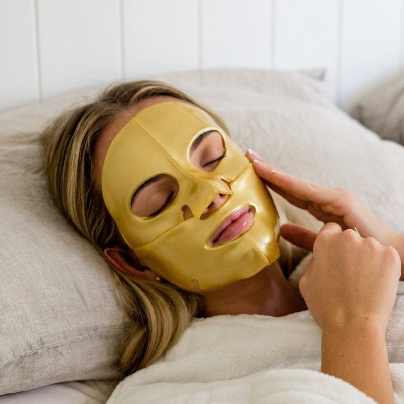 24K Gold Brightening Face Masks - FACE it