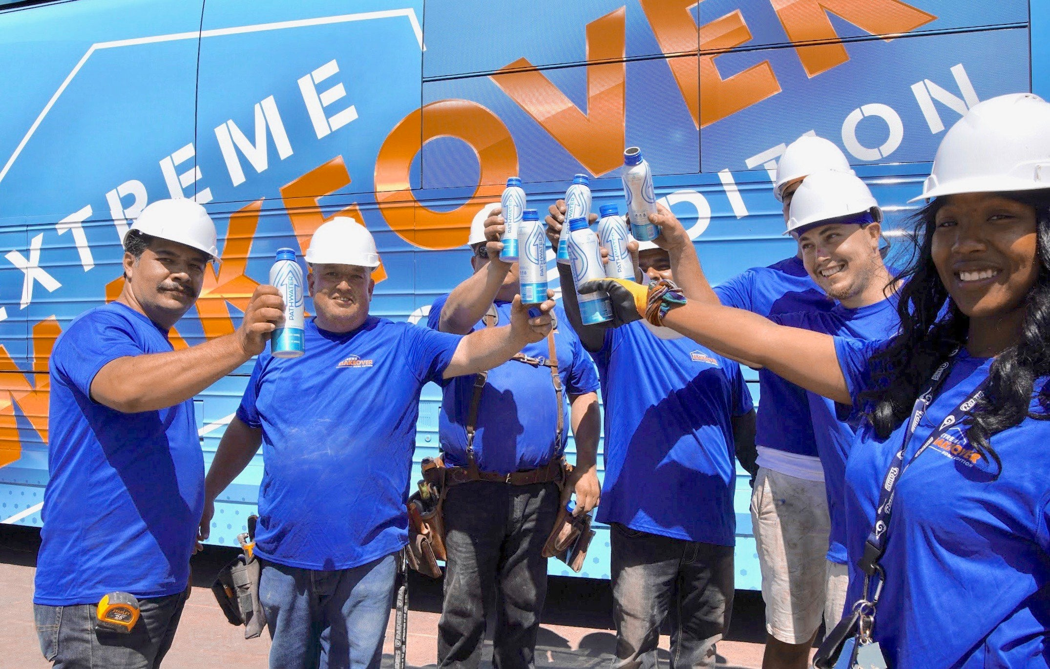 Extreme Home Makeover Eliminates 33,000+ Single-Use Plastic Water Bottles with the Power of PATHWATER