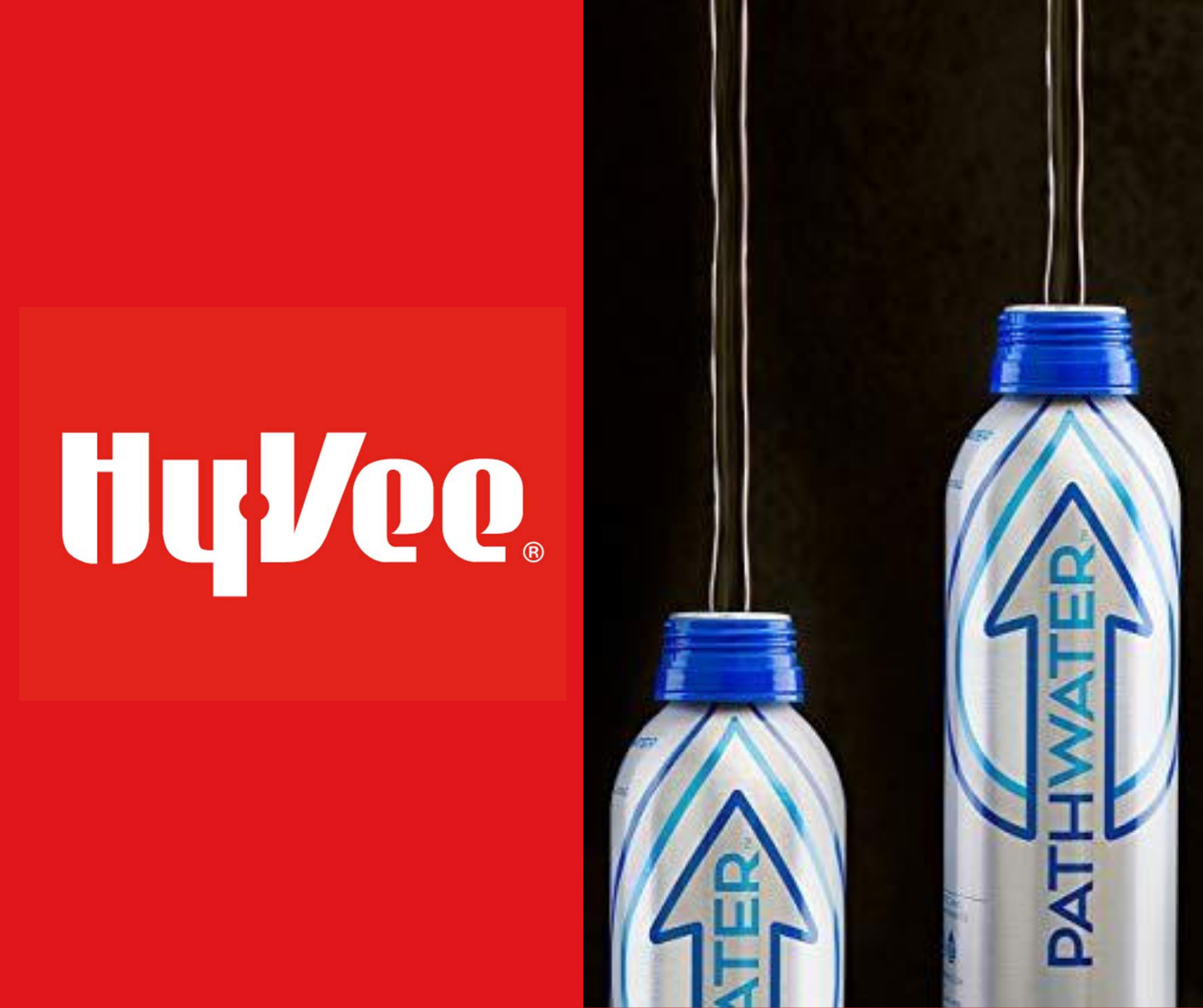 Hy-Vee is Selling PATHWATER's Reusable Bottled Water in an Effort to Help Consumers Reduce Plastic Bottled Water Waste