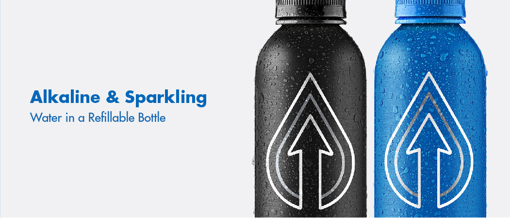 The Next Generation of Enhanced Water is Sustainably Bottled Alkaline & Sparkling PATHWATER