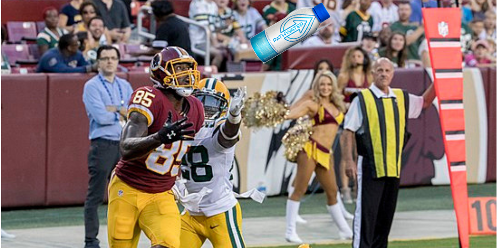 Vernon Davis Calls Out All NFL Players to Stop Using Single-Use Plastic Bottles | PATHWATER