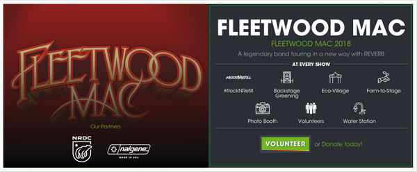 Fleetwood Mac Sustainable Touring Impact | PATHWATER Blog