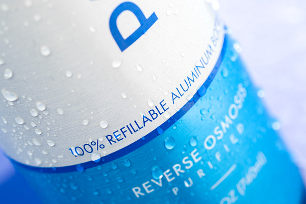 100% refillable aluminum reusable PATHWATER