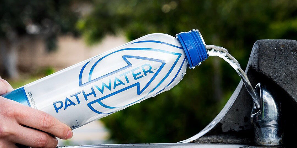 Reuse, Recycle, Repeat with PATHWATER purified aluminum bottled water