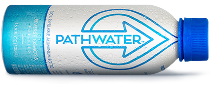 PATHWATER the first reusable purified bottled water hybrid