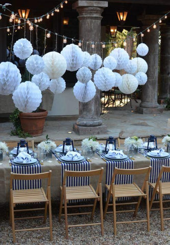 Sustainable party decorations | PATHWATER