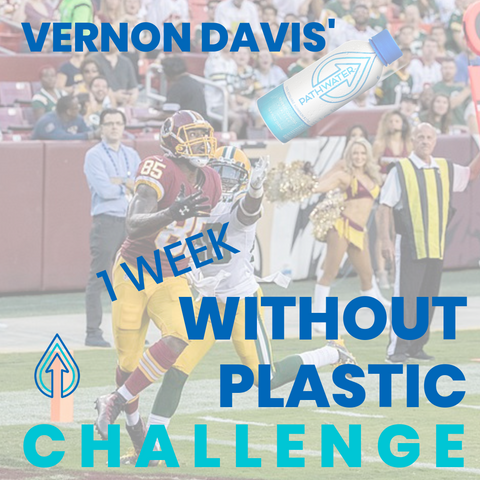 Vernon Davis' 1 week without plastic challenge | PATHWATER