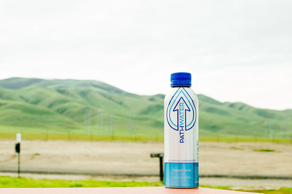 PATHWATER is the first beverage company to introduce reusability